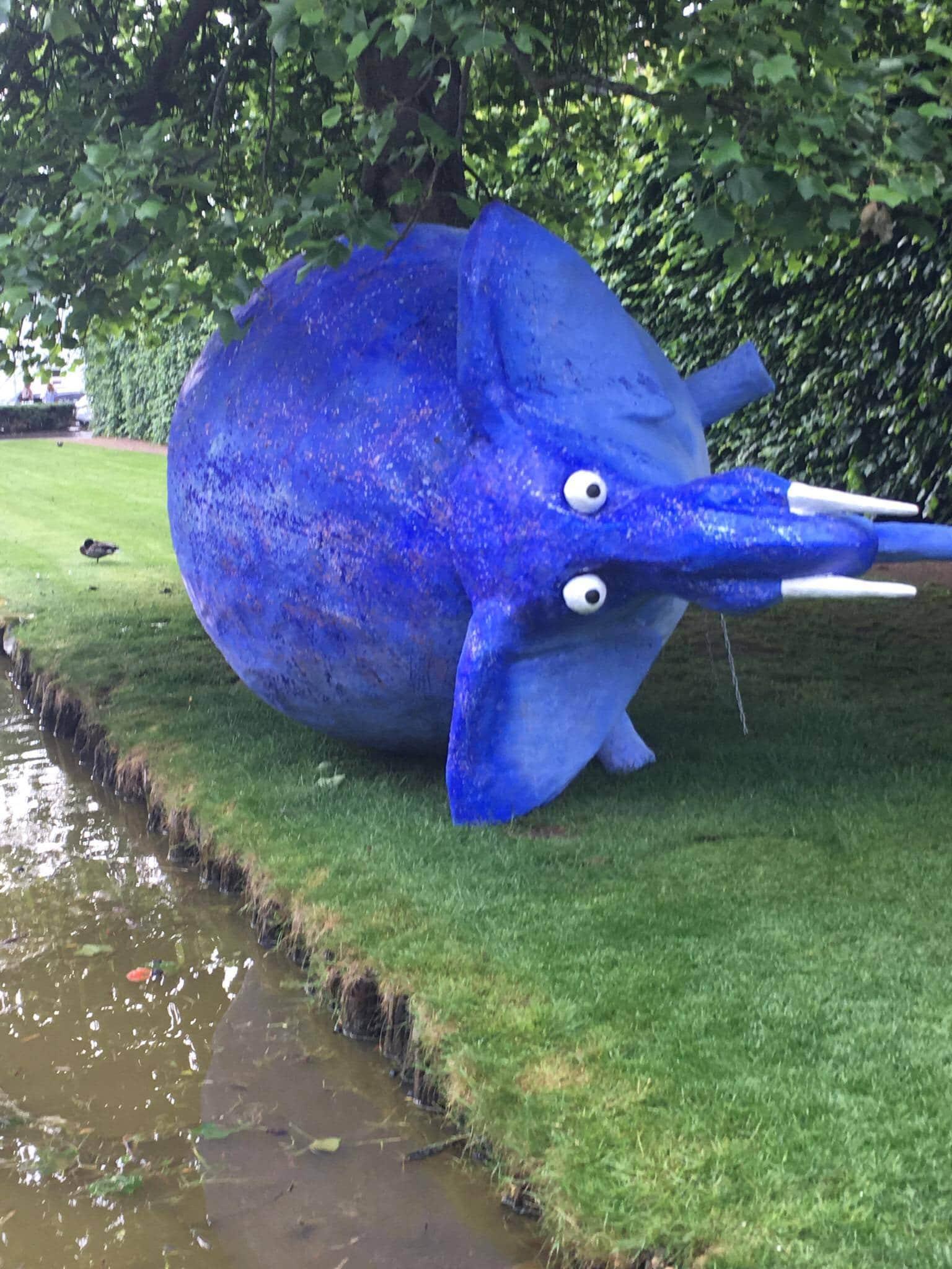 den blå elefant