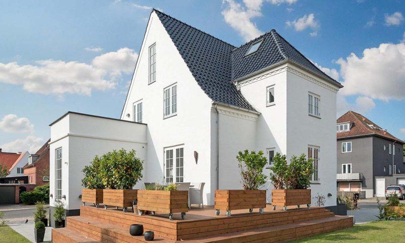 Denne villa på Læssøegade i Odense M kan meget vel være en af dem, der bliver solgt 'med lynets hast'.