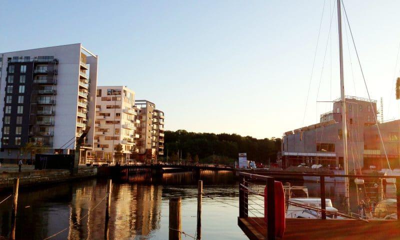 Arkivfoto af Odense Havn