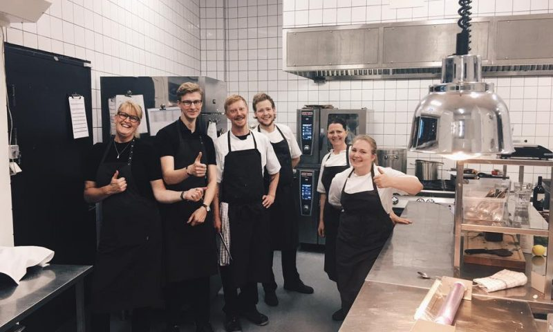 Restaurant Nordatlantens nye køkken.