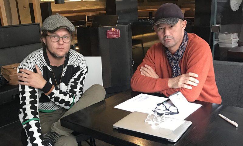 Claus Skovsted (tv) og Per Hallundbæk slår snart dørene op for et nyt koncept i Odense.