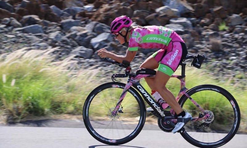 Michelle Vesterby er taget til Hawaii for at sikre en dansk VM-medalje.