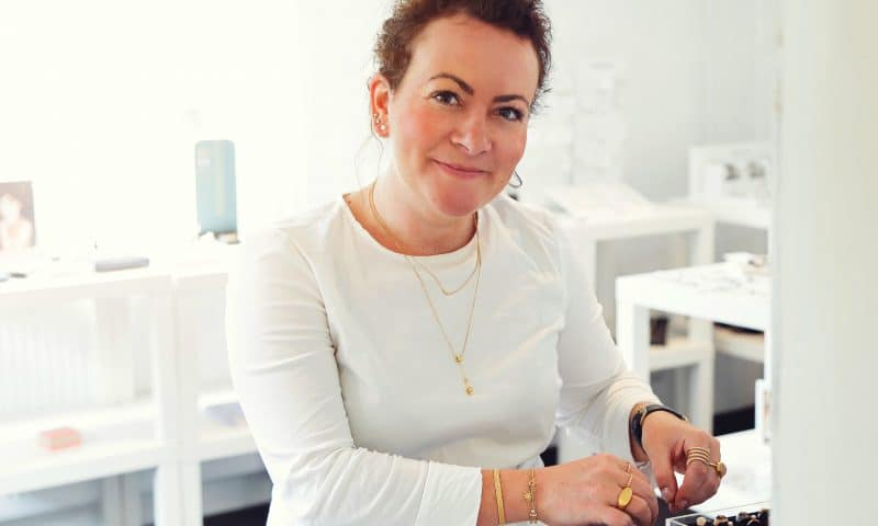 Ejer af A-Hjort Jewellery, Anne Hjort Lund.