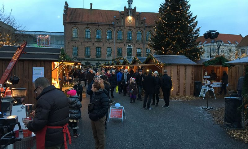 Jul i den gamle Kongeby i Nyborg.