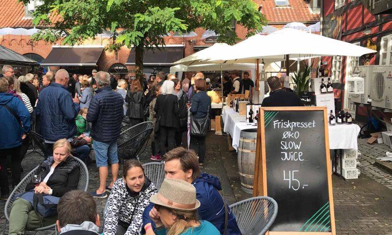 Portvinsfestival i Vintapeprstræde. Arkivfoto