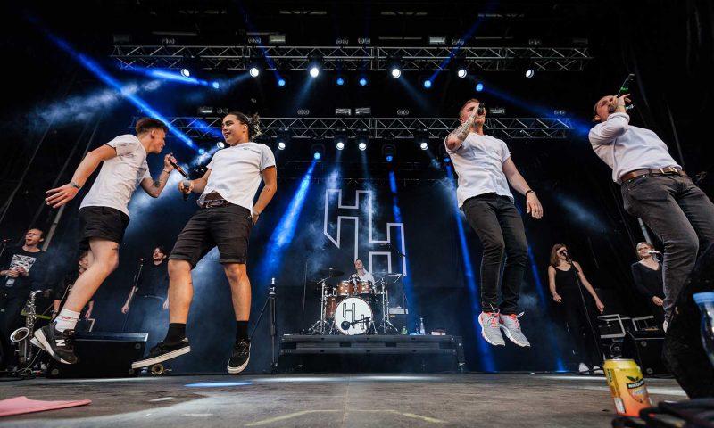 Holmen Hustlers var en af vinderne af Tinderbox Band Battle 2017 (foto: Thorsten Iversen).