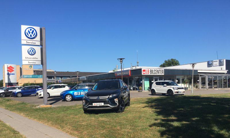 LB Bilcenter på Peder Wessels Vej 11 i Odense SØ.