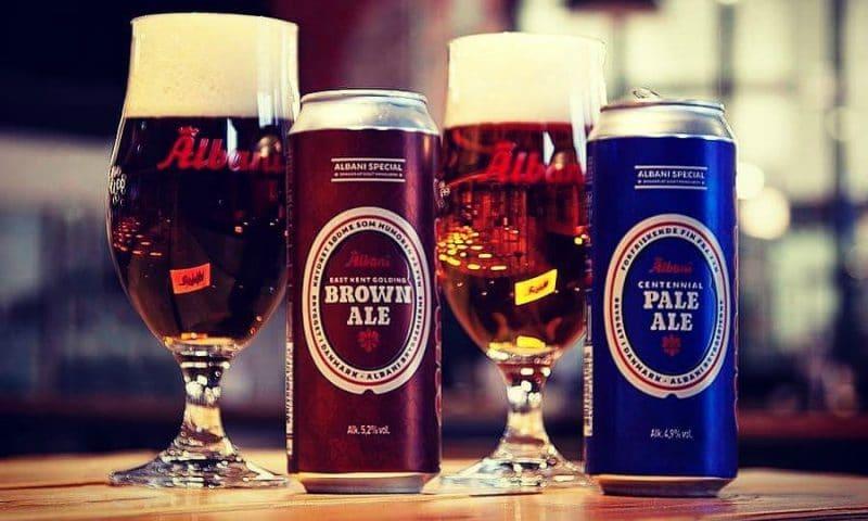 De to nye øl fra Albani
