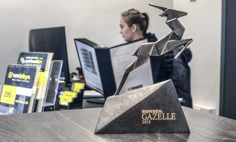 Autohuset blev sidste år en Gazelle-virksomhed