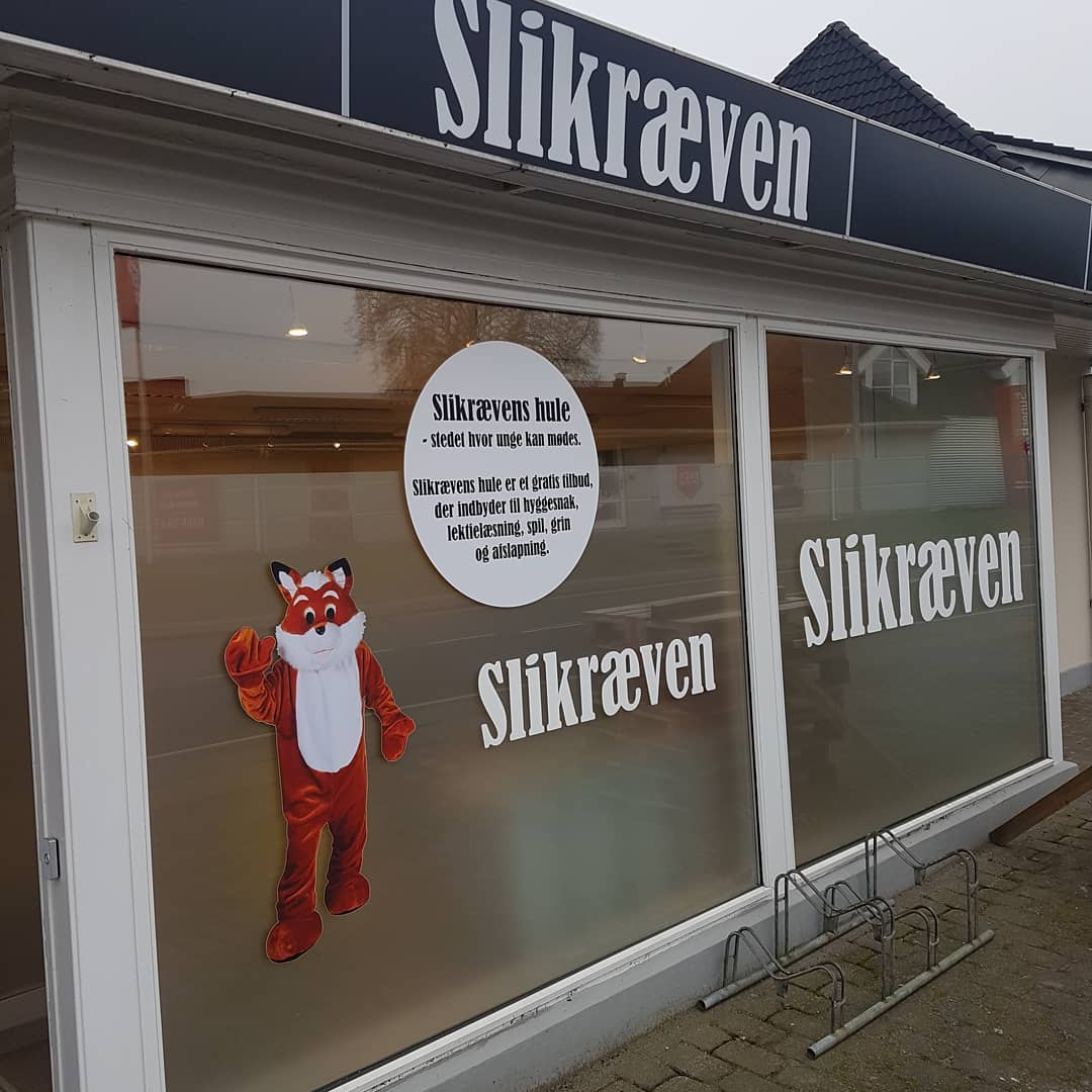 Slikræven Har Indtaget Odense Med Billigt Bland Selv Slik