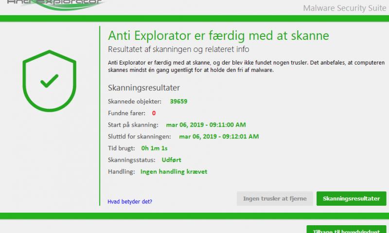 Anti Explorator anti malware