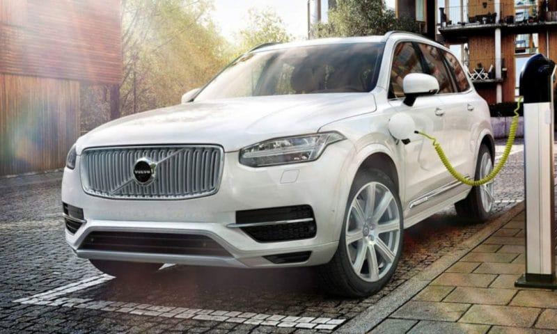 Arkivfoto - Volvo elbil