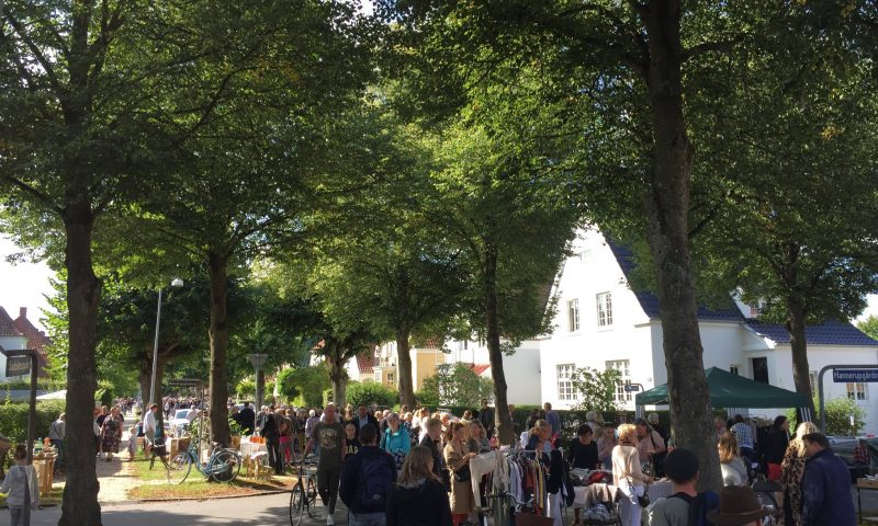 Foto: Danmarks længste loppemarked