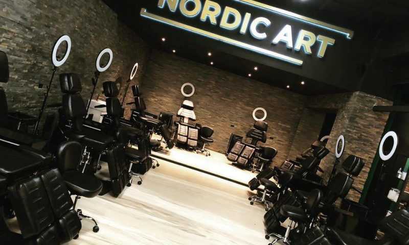 Arkivfoto fra en anden Nordic Art butik