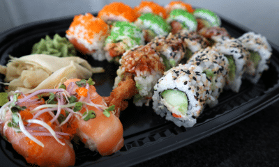 Arkivfoto sushi