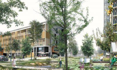 Visualisering af omdannelse i Birkeparken Juul og Frost arkitekter