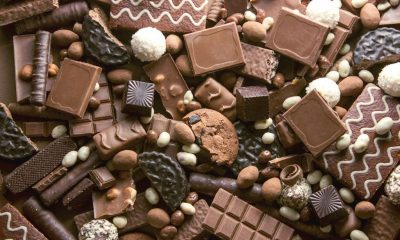 Arkivfoto chokolade