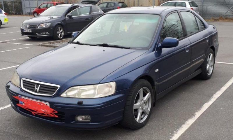 Bilen der blev konfiskeret - foto: Fyns Politi