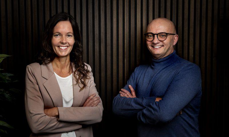 Steen og Malene står bag  podcasten fra IVF Syd