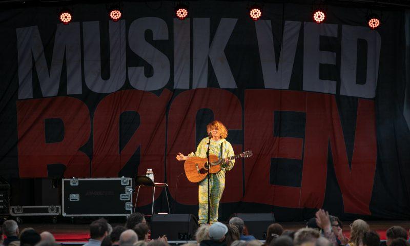 Foto: Musik ved Bøgen